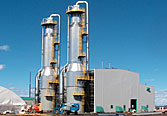 Evaporators for oil sands