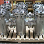 Duplex Stainless Steel filter pots