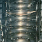 titanium pipe coil for a shell and tube heat exchanger fabricated by Ellett Industries